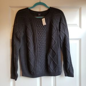 NWT GAP Cable Knit Sweater
